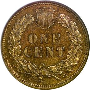 1872 1C PF reverse