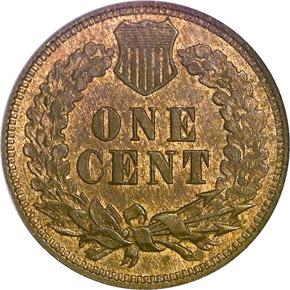 1874 1C MS reverse