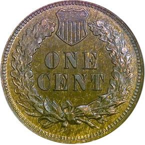 1876 1C PF reverse