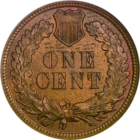 1880 1C MS reverse