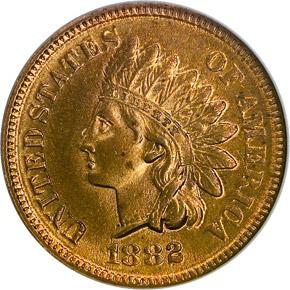 1882 1C MS obverse