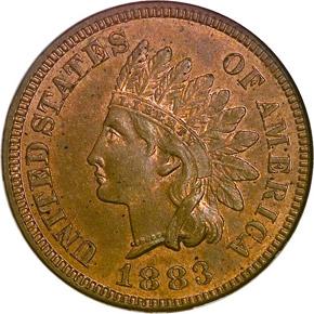 1883 1C MS obverse