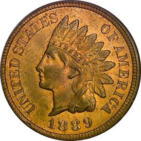 1889 1C MS obverse