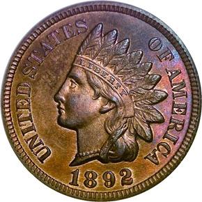 1892 1C PF obverse