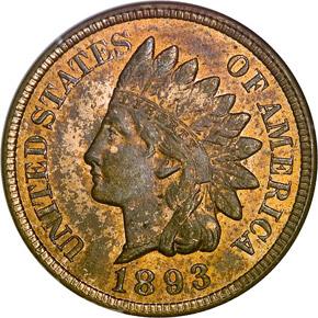 1893 1C MS obverse