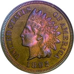 1893 1C PF obverse