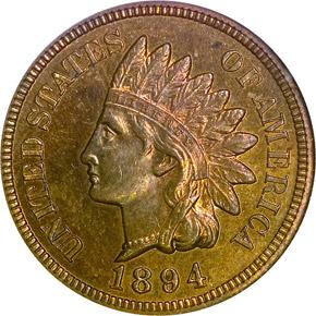 1894 1C PF obverse
