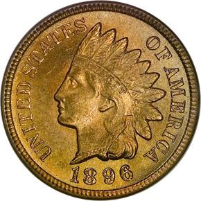 1896 1C MS obverse
