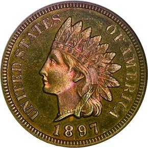 1897 1C PF obverse