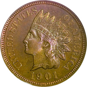 1901 1C PF obverse