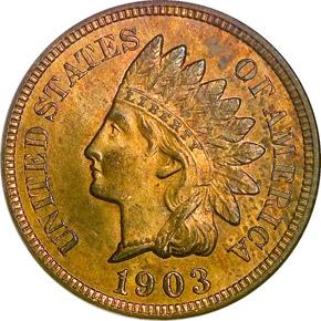 1903 1C MS obverse