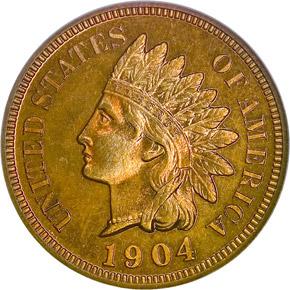 1904 1C PF obverse