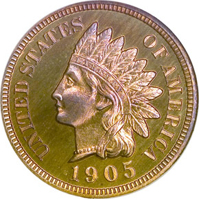 1905 1C PF obverse