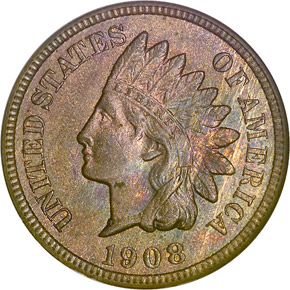 1908 S 1C MS obverse