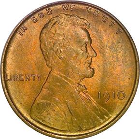 1910 1C MS obverse