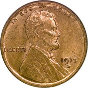 1913 D 1C MS obverse