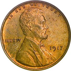 1917 1C MS obverse