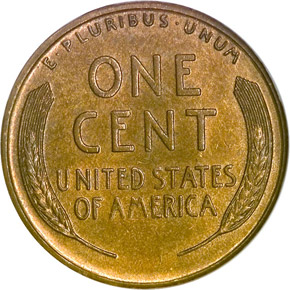 1917 S 1C MS reverse