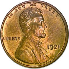1921 1C MS obverse