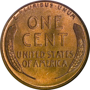 1928 D 1C MS reverse