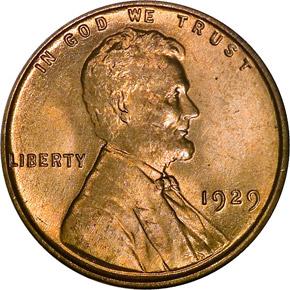 1929 1C MS obverse