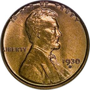 1930 D 1C MS obverse