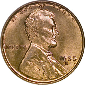 1935 S 1C MS obverse