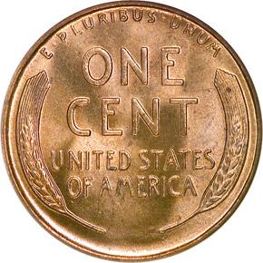 1935 S 1C MS reverse