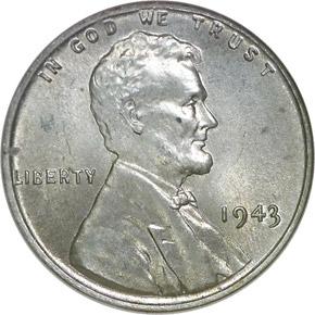 1943 1C MS obverse