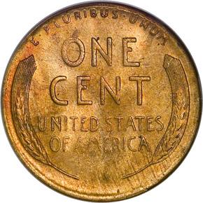 1947 S 1C MS reverse