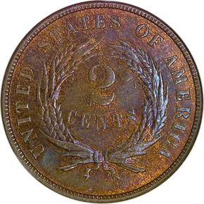 1872 2C MS reverse