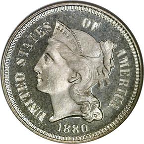 1880 3CN PF obverse