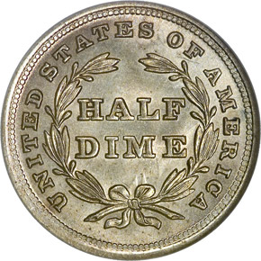 1838 SMALL STARS H10C MS reverse