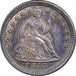 1843 H10C MS obverse