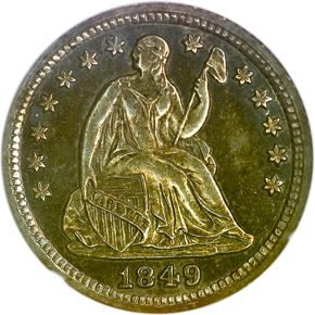 1849 H10C PF obverse