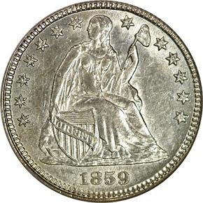 1859 H10C MS obverse