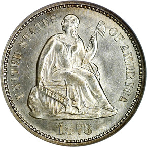 1873 H10C MS obverse