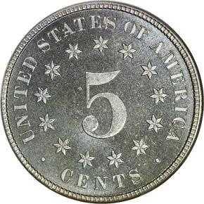 1881 5C PF reverse