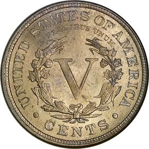 1888 5C MS reverse