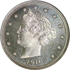 1910 5C PF obverse