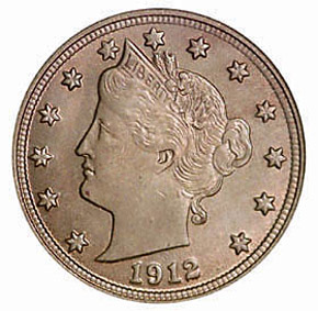 1912 5C MS obverse
