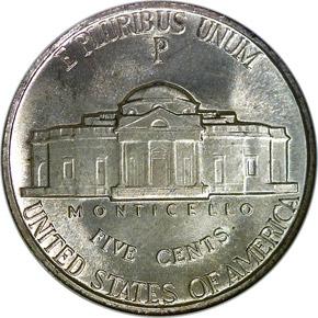 1943/2 P 5C MS reverse