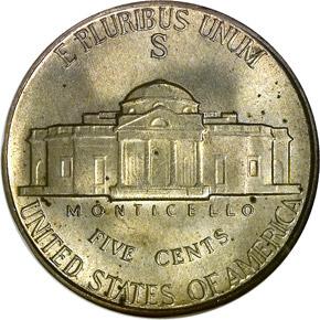 1943 S 5C MS reverse
