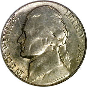 1946 S 5C MS obverse