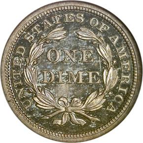 1841 10C PF reverse