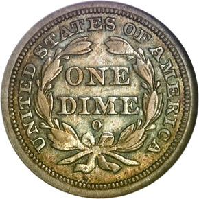 1843 O 10C MS reverse