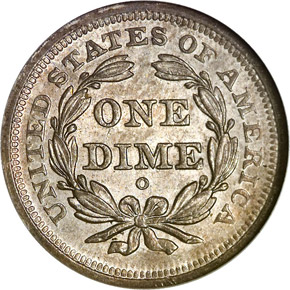 1849 O 10C MS reverse
