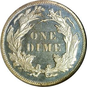 1878 10C PF reverse
