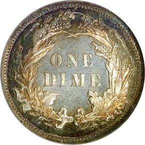 1879 10C MS reverse