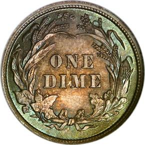 1894 10C MS reverse